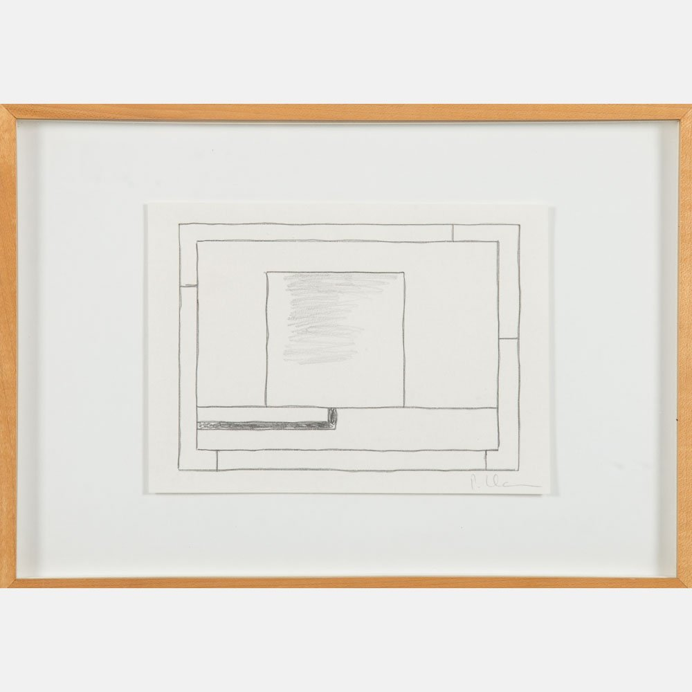 Peter Halley (b. 1953) Untitled, Pencil and ink on