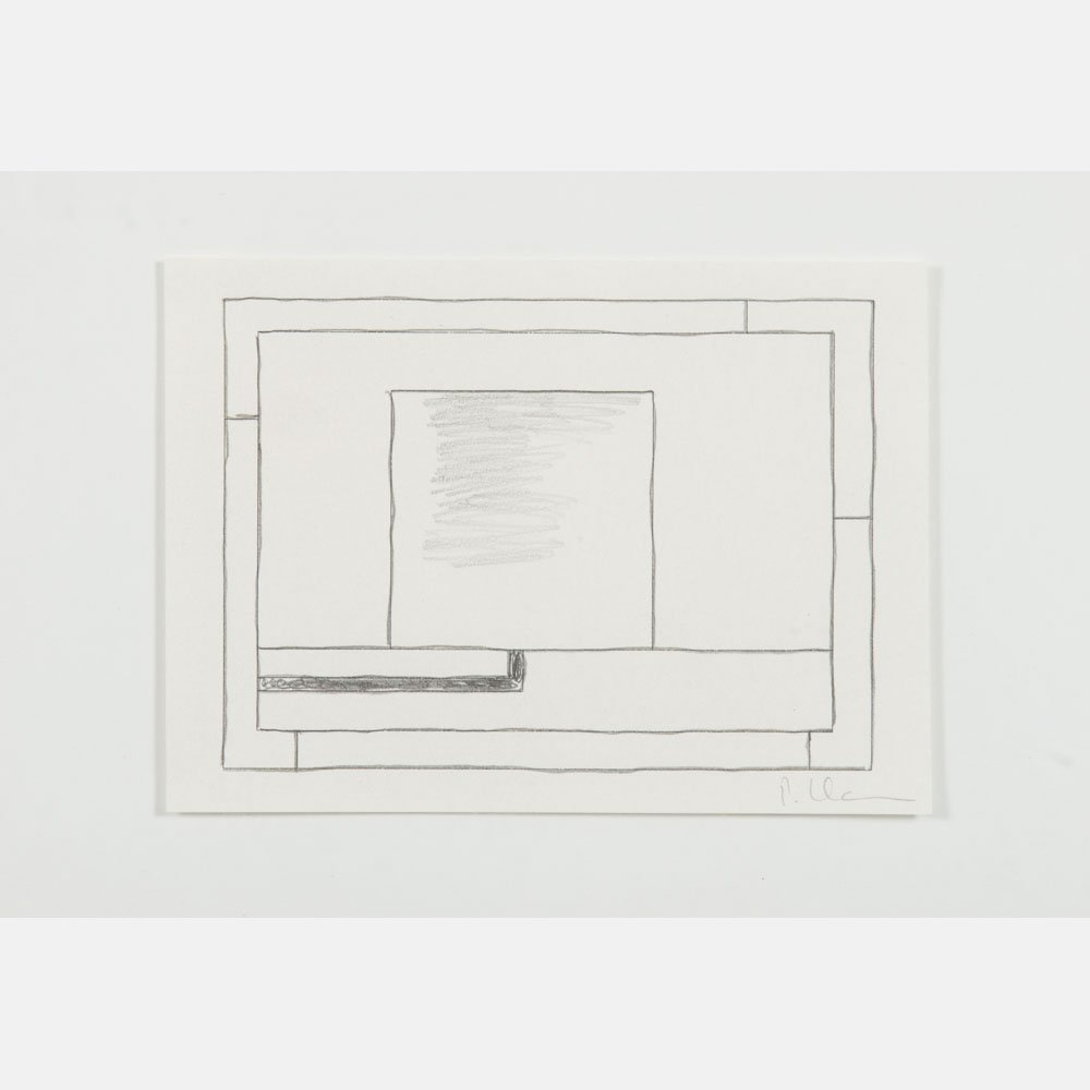 Peter Halley (b. 1953) Untitled, Pencil and ink on - 2