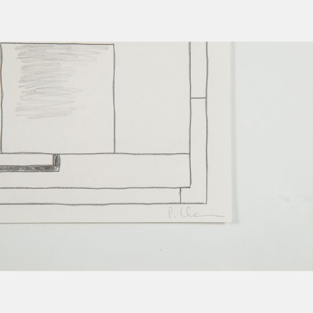 Peter Halley (b. 1953) Untitled, Pencil and ink on - 3