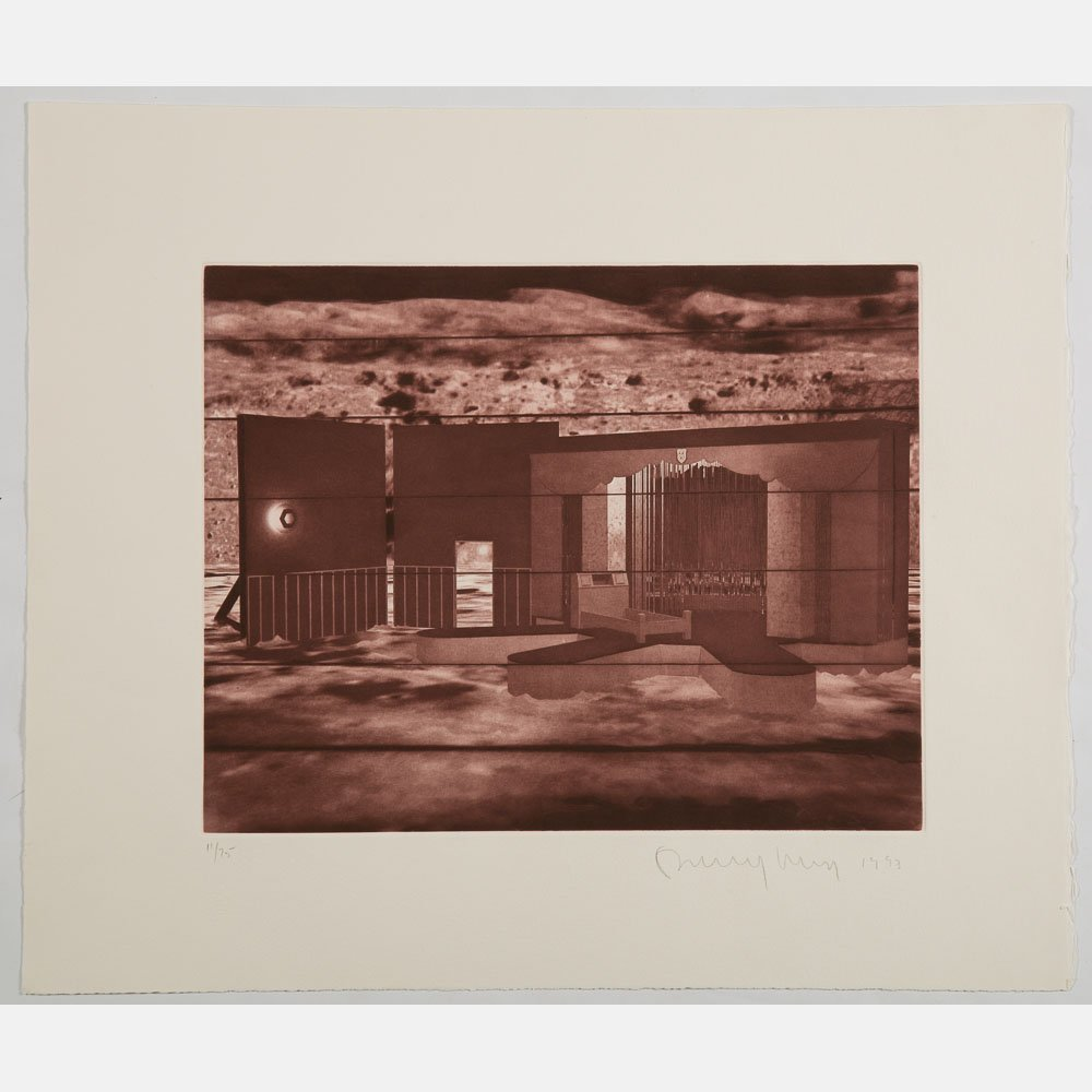 Ronald Jones (b. 1952) Untitled, Digital color print,