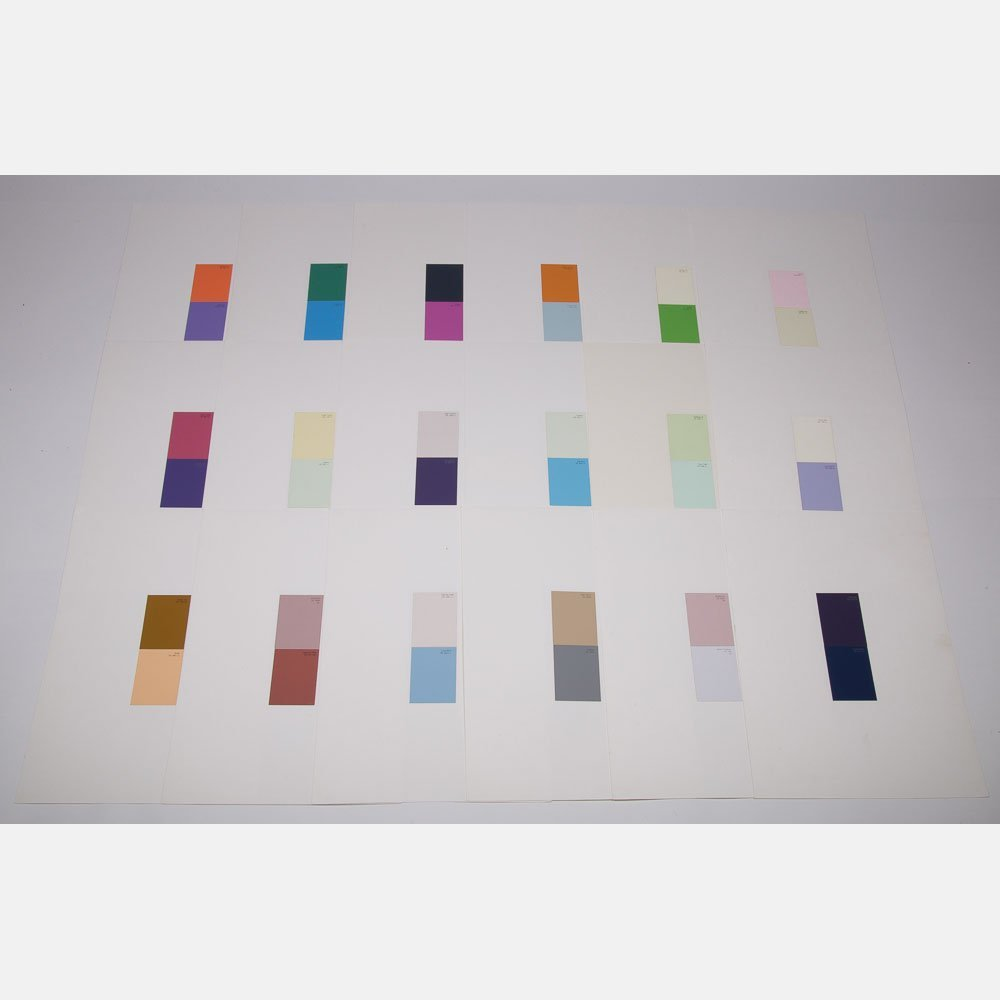 William Radawec (1952-2011) Twenty-Eight Studies for