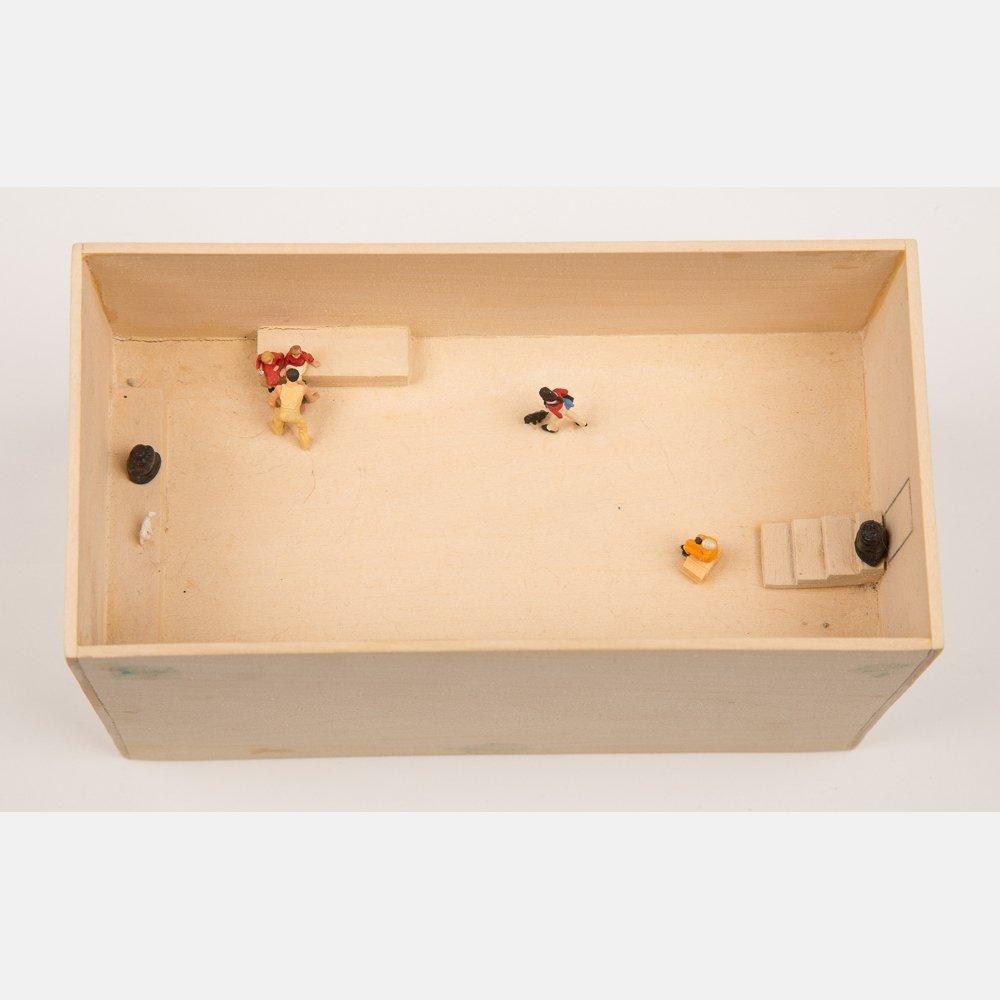 William Radawec (1952-2011) Three Dioramas from 'A - 4