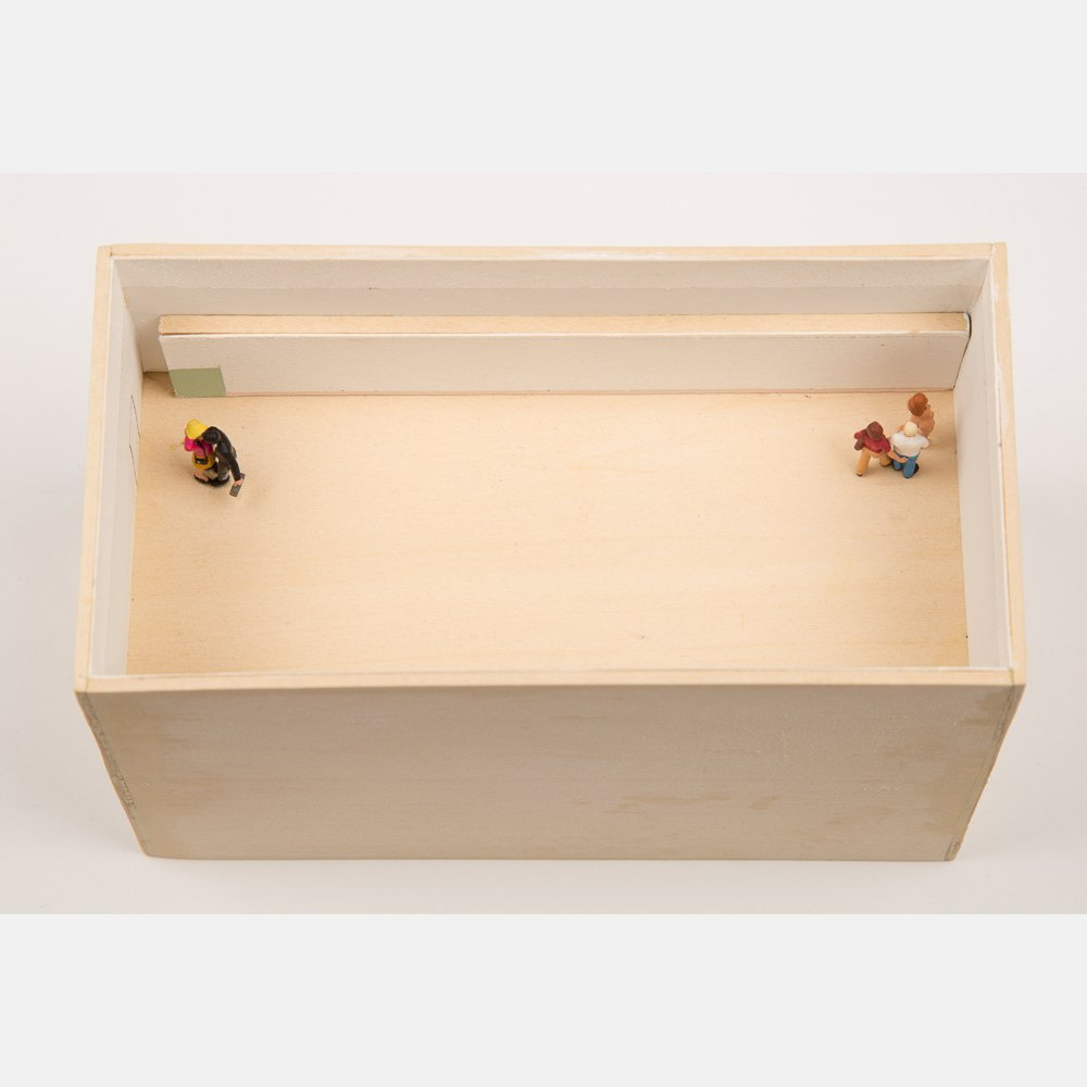 William Radawec (1952-2011) Three Dioramas from 'A - 5