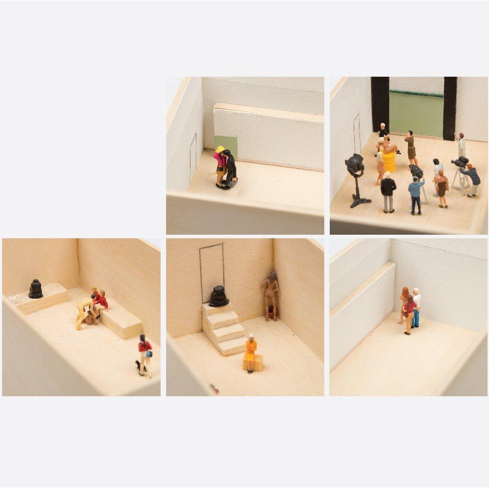 William Radawec (1952-2011) Three Dioramas from 'A - 7