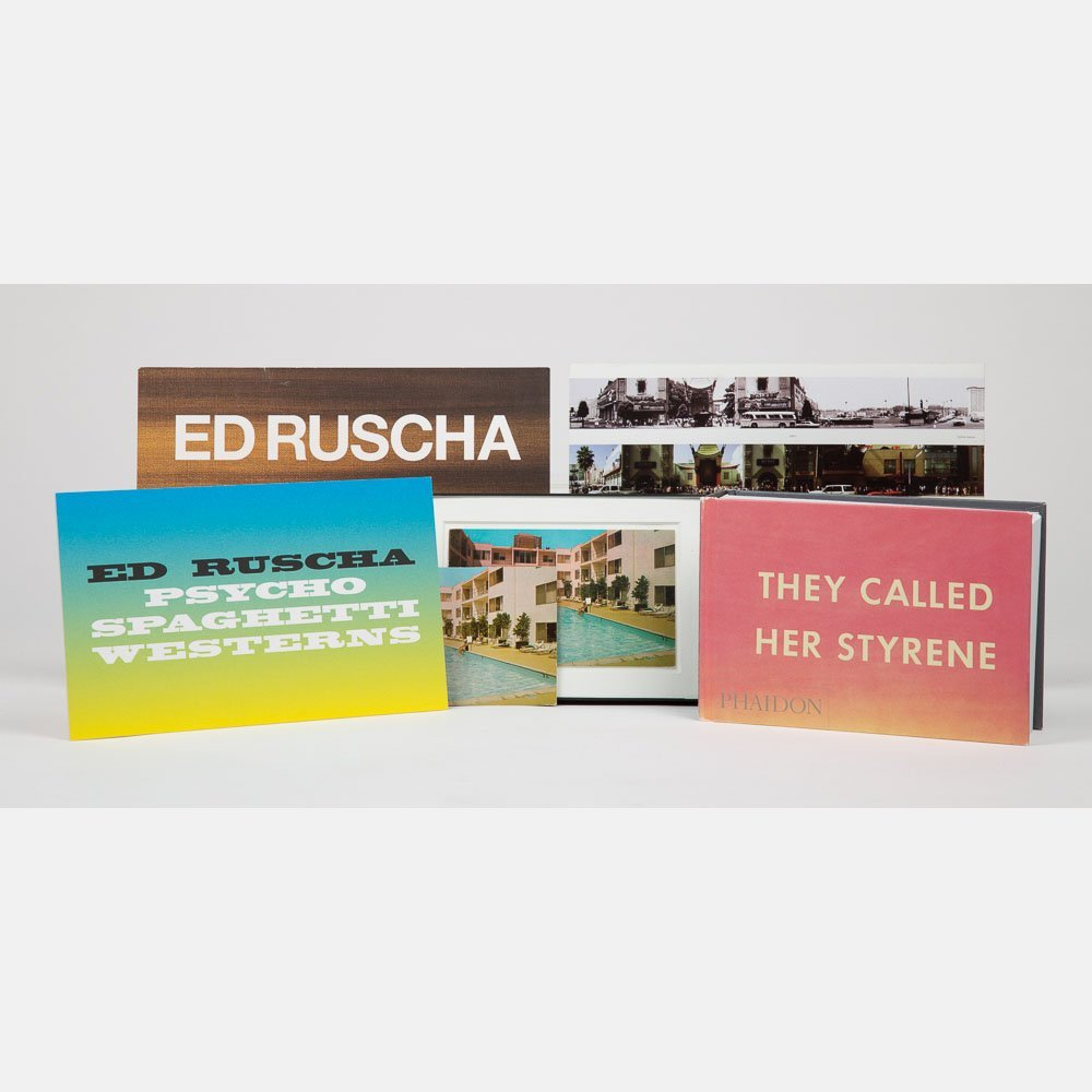 Ruscha, Ed (b. 1937).  They Called Her Styrene. London:
