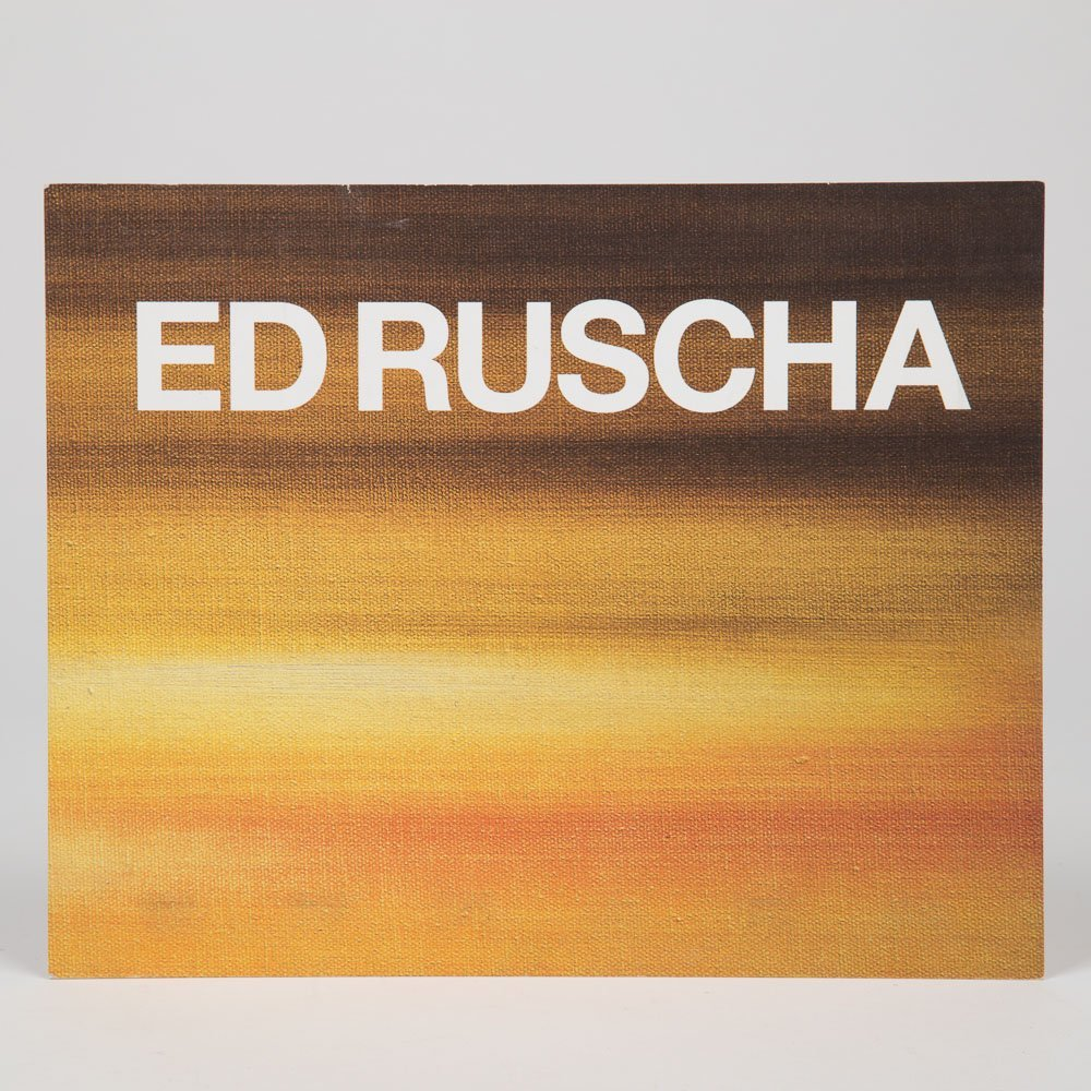 Ruscha, Ed (b. 1937).  They Called Her Styrene. London: - 7