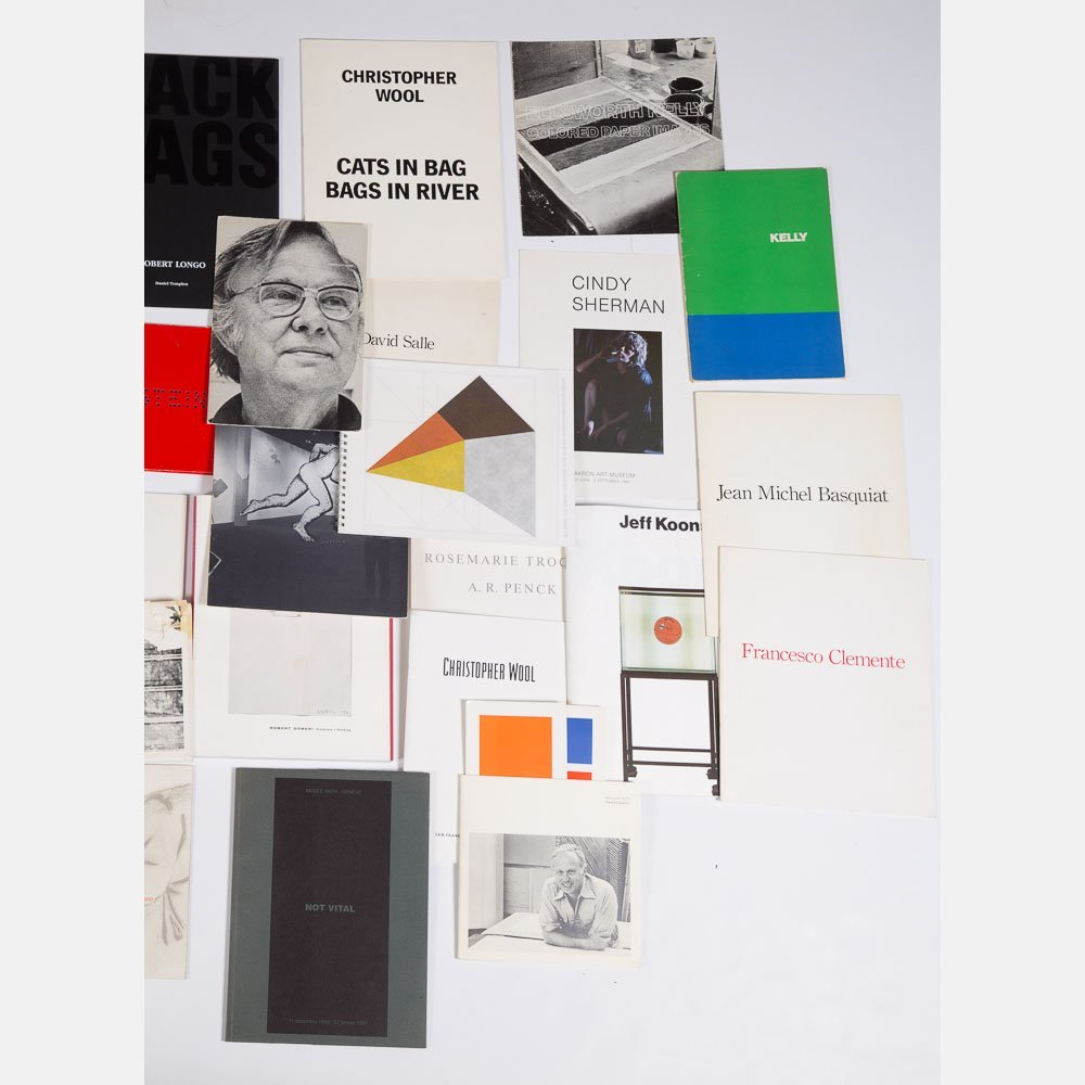 A Miscellaneous Collection of Exhibition Catalogs and - 4