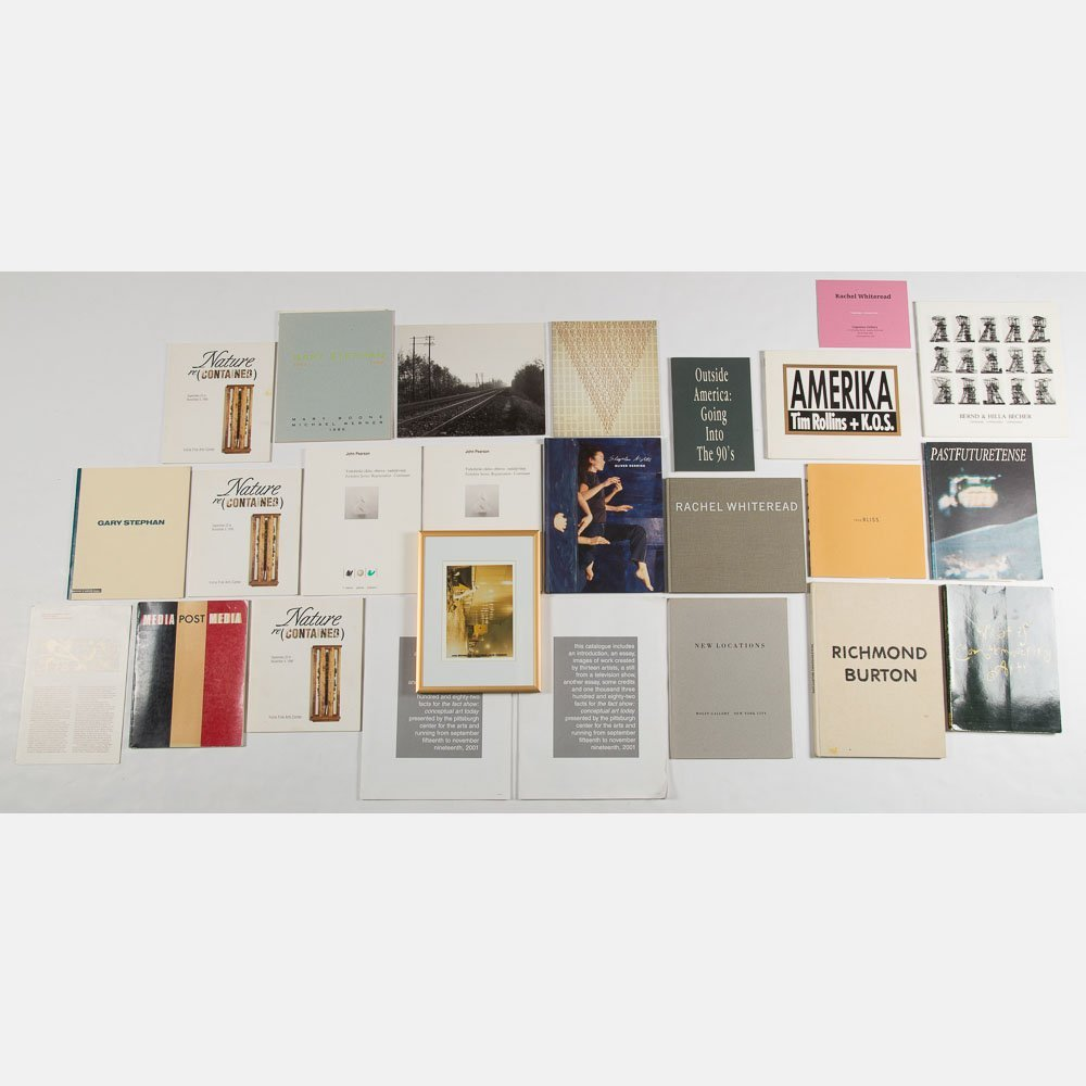 A Miscellaneous Collection of Exhibition Catalogs and