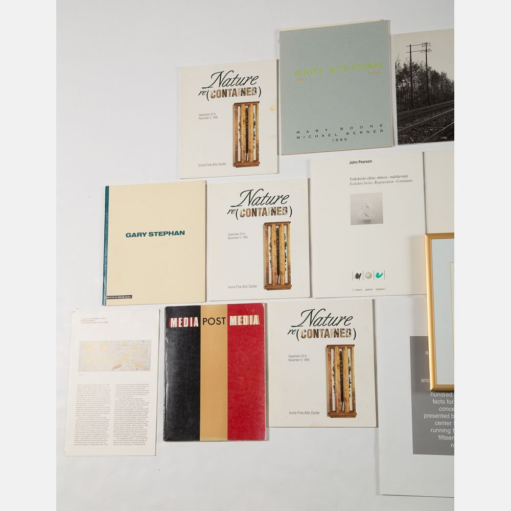 A Miscellaneous Collection of Exhibition Catalogs and - 2