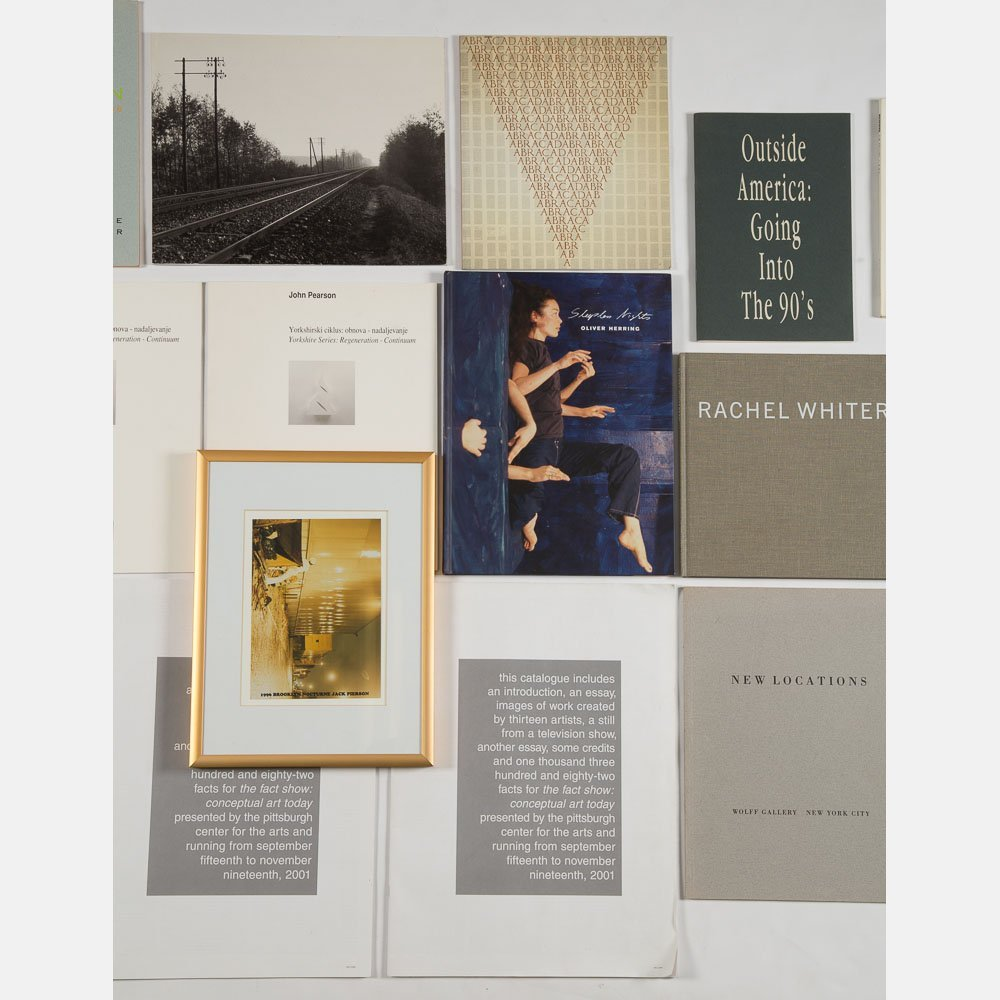 A Miscellaneous Collection of Exhibition Catalogs and - 3