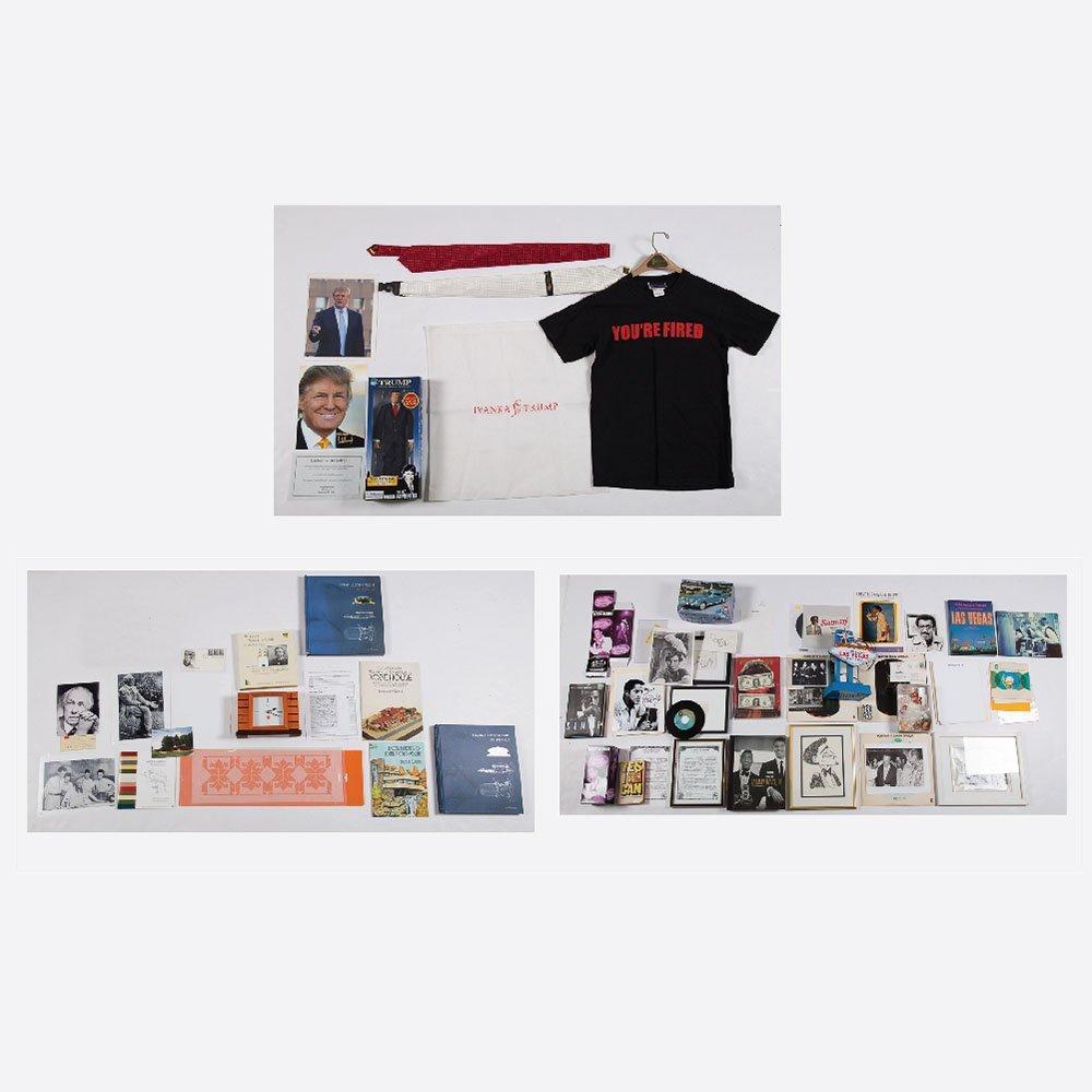A Collection of Celebrity Memorabilia, 20th Century,