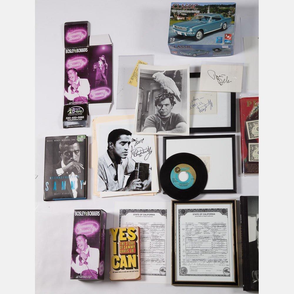 A Collection of Celebrity Memorabilia, 20th Century, - 2