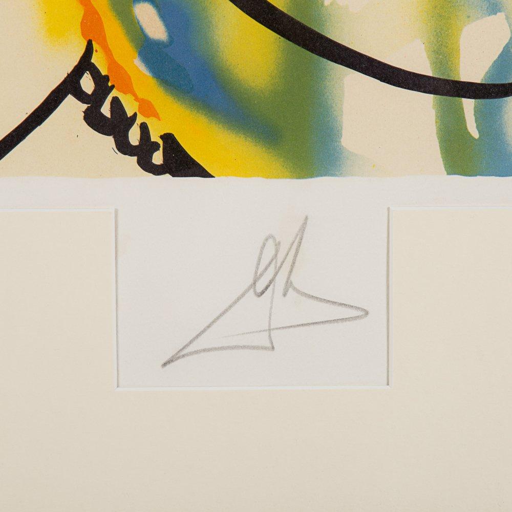 Salvador Dali (1904-1989) Fleurs Surrealist: Gala's - 10
