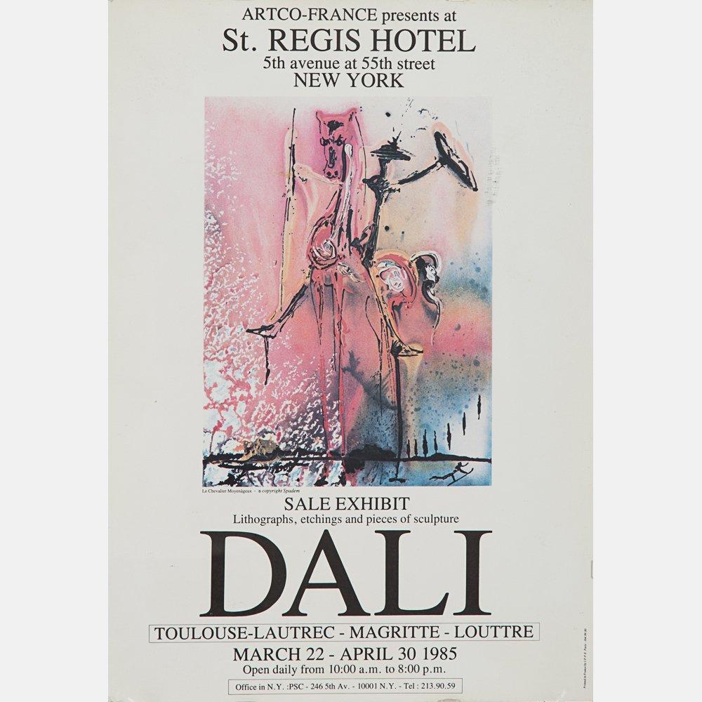 Salvador Dali (1904-1989) Fleurs Surrealist: Gala's - 5