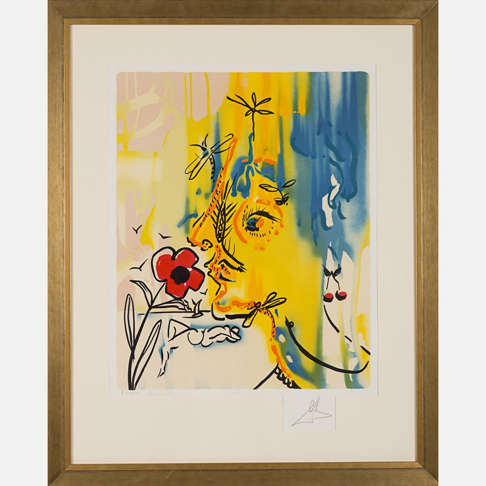 Salvador Dali (1904-1989) Fleurs Surrealist: Gala's - 9