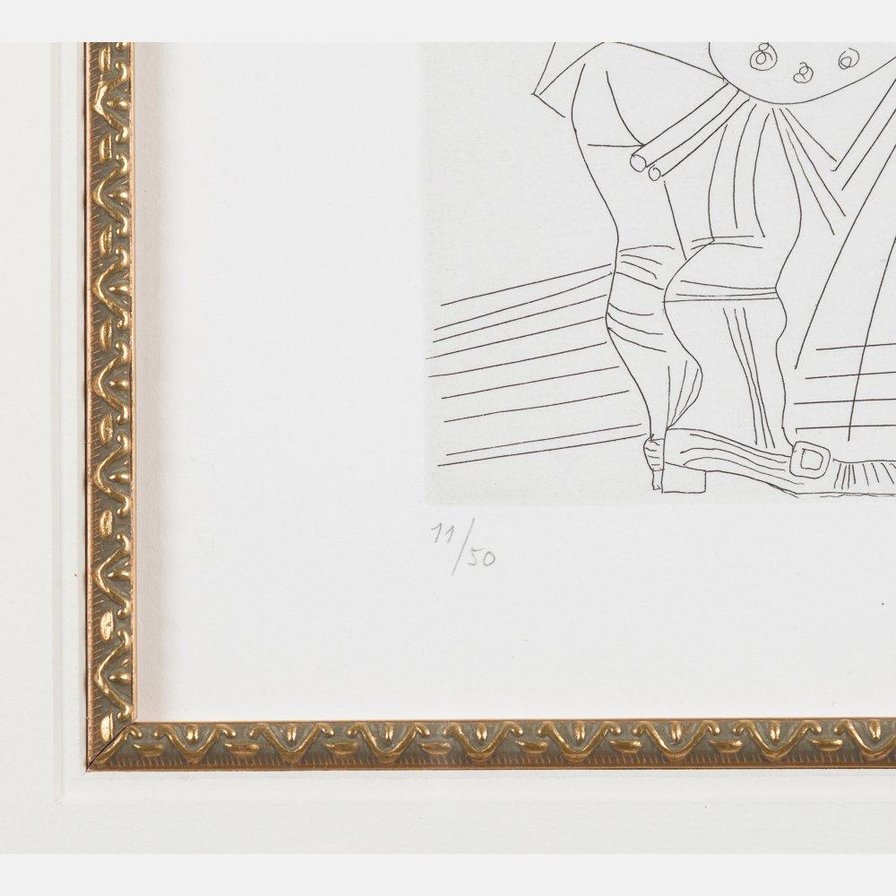 Pablo Picasso (1881-1973) Peintre et Modele qui se - 4