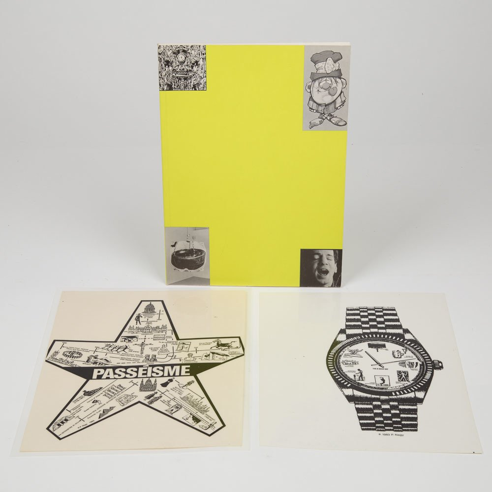 Peter Nagy (b. 1959) The 8 Hour Day/Passeisme, 1983, - 2