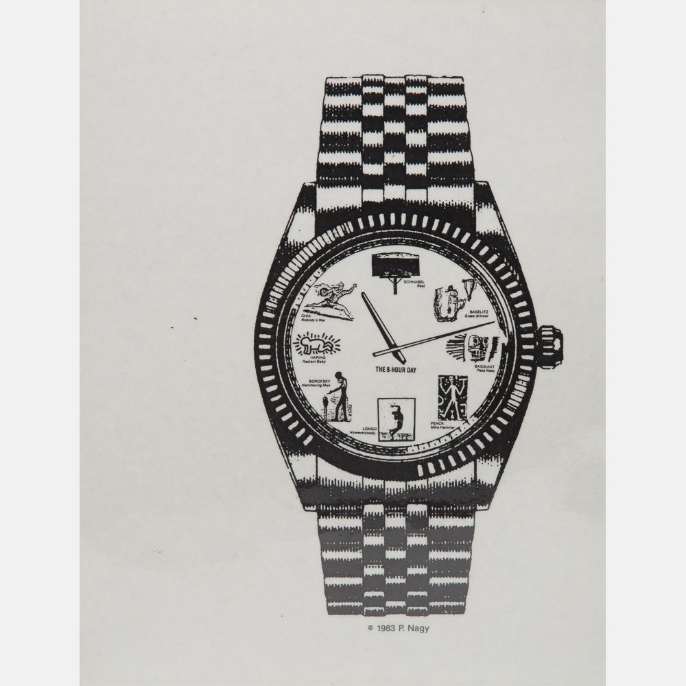 Peter Nagy (b. 1959) The 8 Hour Day/Passeisme, 1983, - 6