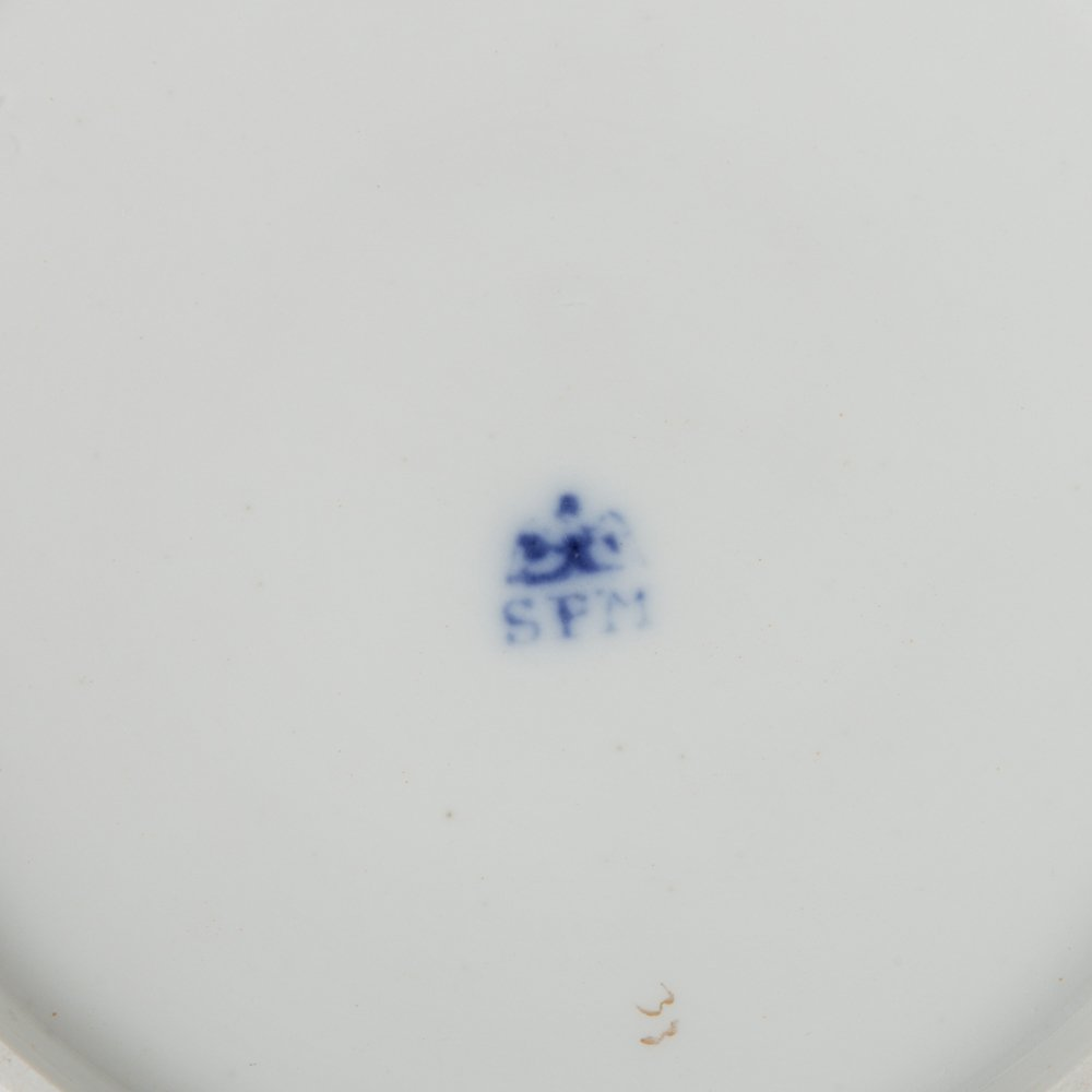 A Miscellaneous Collection of Porcelain Serving and - 7