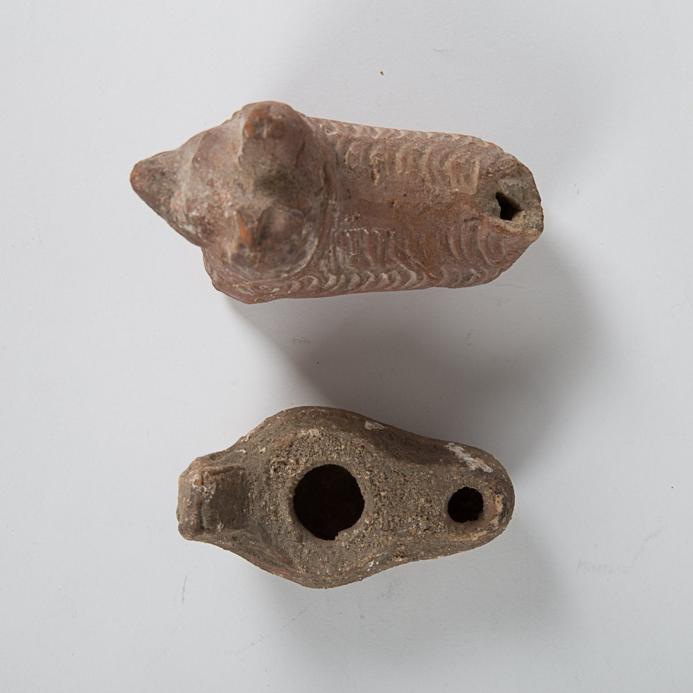 A Terracotta Roman Style Figure of Dog, 20th Century, - 3