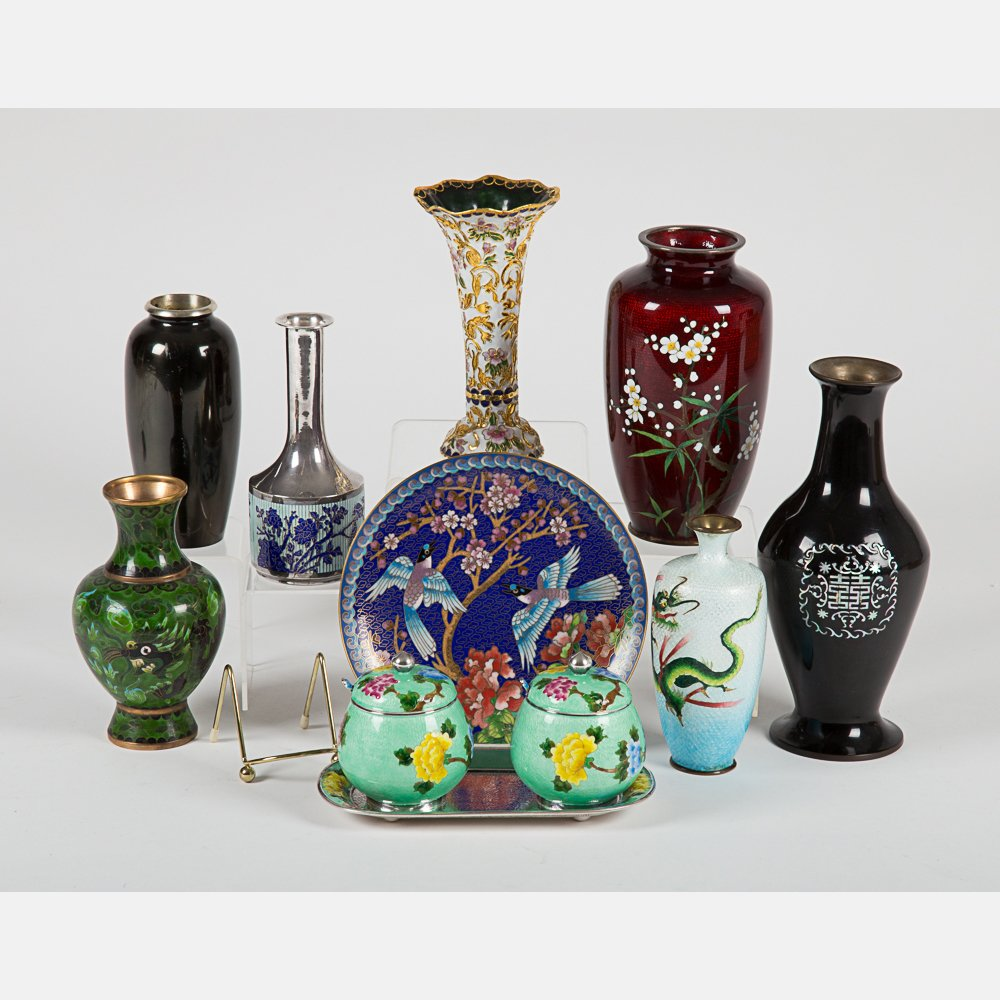 A Miscellaneous Collection of Asian Cloisonne and