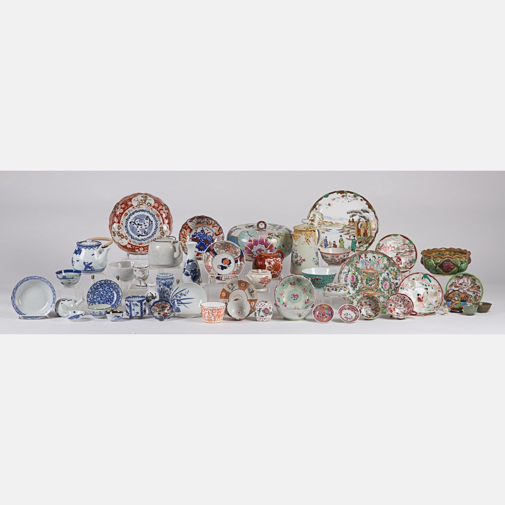 A Miscellaneous Collection of Asian Porcelain