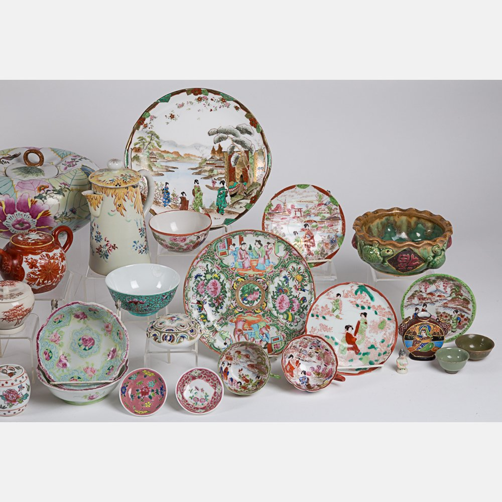 A Miscellaneous Collection of Asian Porcelain - 2