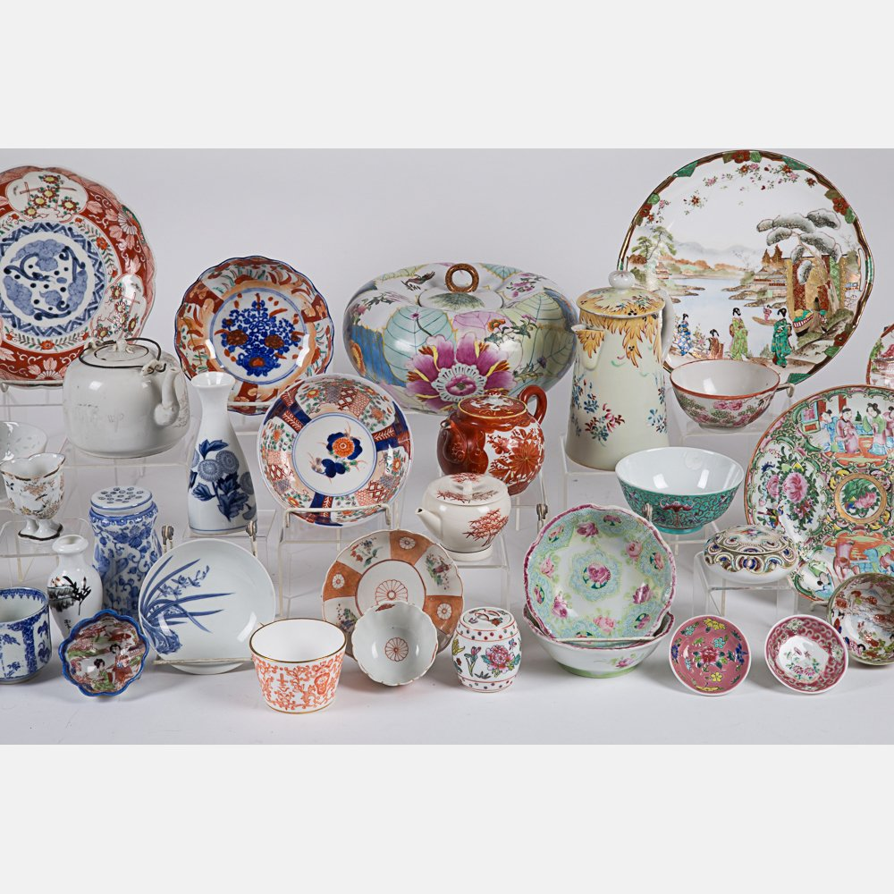 A Miscellaneous Collection of Asian Porcelain - 4