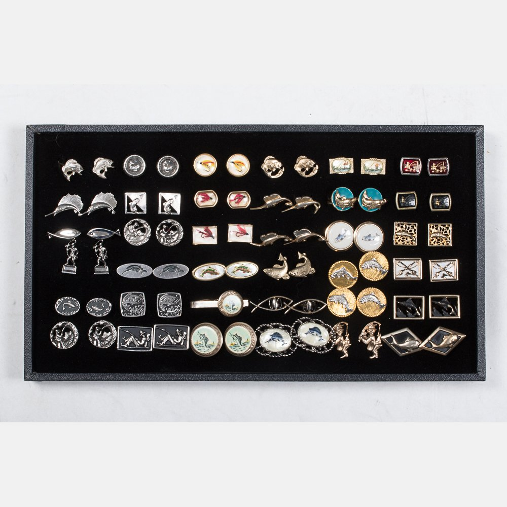 A Miscellaneous Collection of Thirty-Five Pairs of