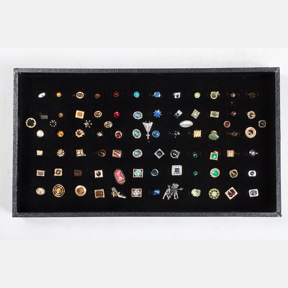 A Miscellaneous Collection of Eighty Tie Pins by