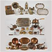 A Miscellaneous Collection of Copper and Brass