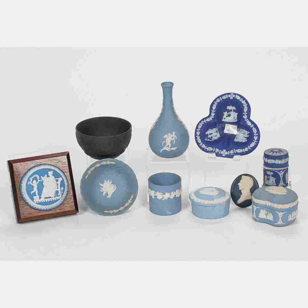 A Miscellaneous Collection of Wedgwood Jasperware