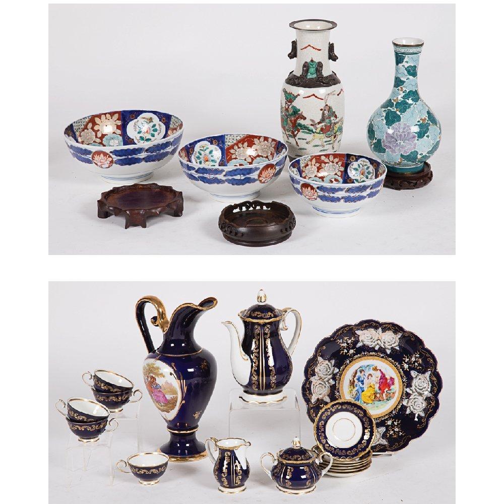 A Miscellaneous Collection of Porcelain Decorative