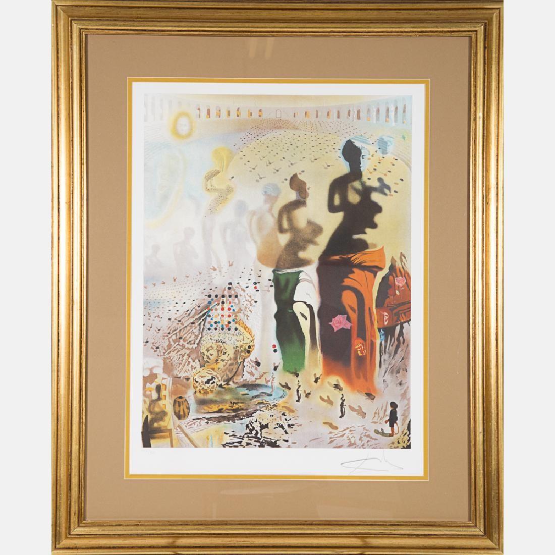 Salvador Dali (1904-1989) Le Toreador Hallucinogene,