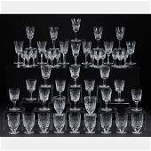 A Collection of FortySeven Waterford Crystal Glasses
