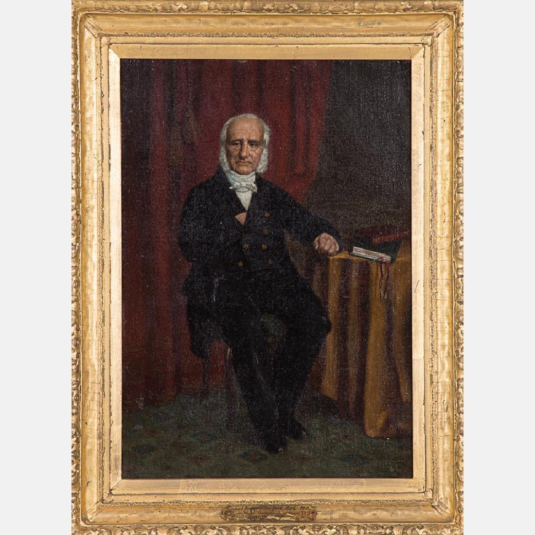 Louis E. Delius (19th Century) Portrait of Robert