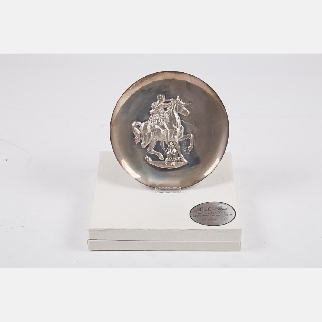 A Salvador Dali (1904) Franklin Mint 1971 Annual