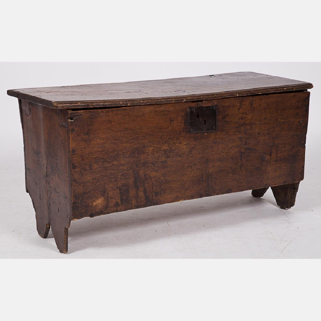 An American Oak Blanket Chest, 20th Century.