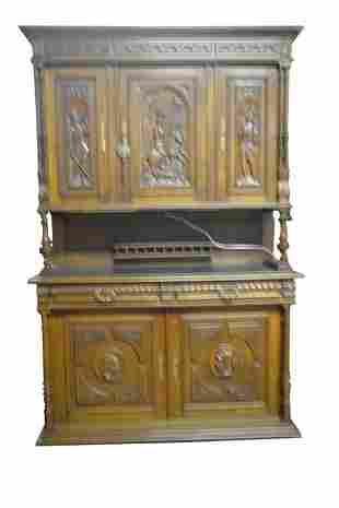 Fine Antique French Oak Cupboard