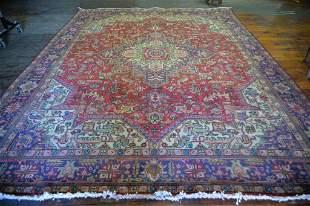 Persian Mashad Hand Woven Rug 9.6 x 12.8