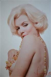 Marilyn Monroe by Bert Stern! Busty Beads!