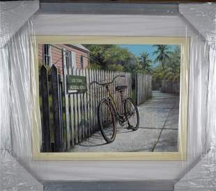 """Tripp Harrison """"Old Town"""" Signed!"""