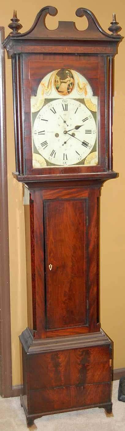 24: JAMES LIDDELL JOHNSTON GRANDFATHER CLOCK
