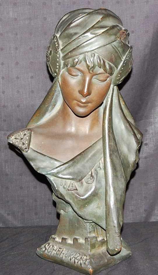 11: COMPOSITION SCHEHERAZADE BUST OF LADY
