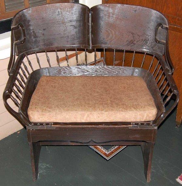 2: ORIGINAL CARMICHAEL BUGGY SEAT
