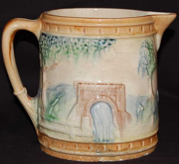 6: EARLY ROSEVILLE BRIDGE PITCHER