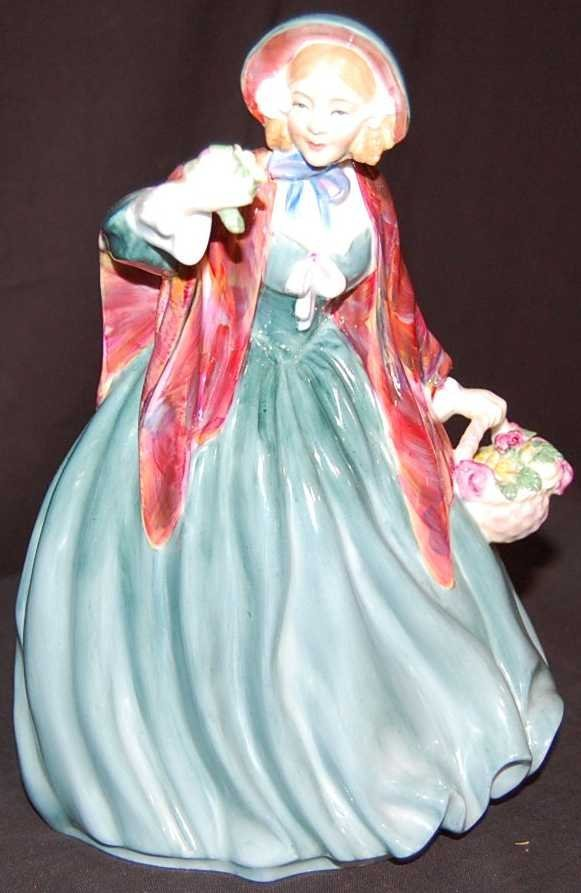19: LADY CHARMIAN ROYAL DOULTON PORCELAIN FIGURE