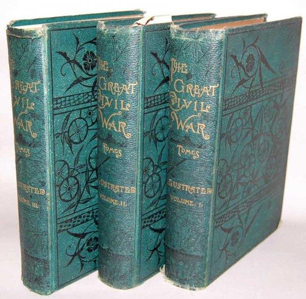 140: THREE VOLUMES, THE GREAT CIVIL WAR, 1862-1867
