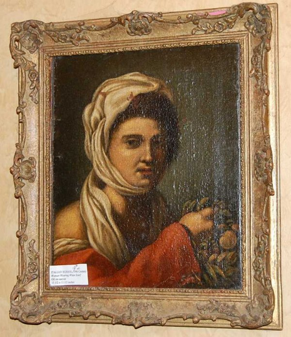 15: ITALIAN SCHOOL PORTRAIT OF LADY
