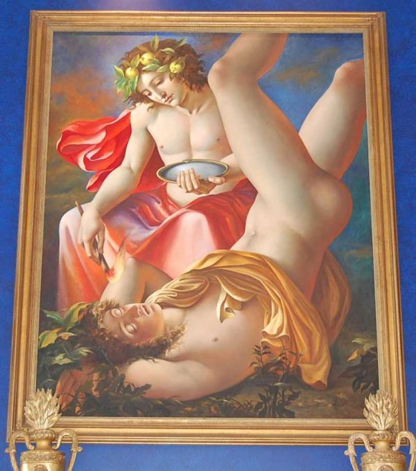 61: Pometheus painting by Carlos Maria Mariani